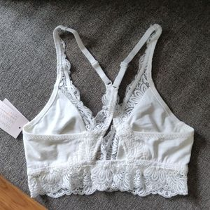 Auden Intimates & Sleepwear - Women's Cotton Bralette with Lace - NWT
